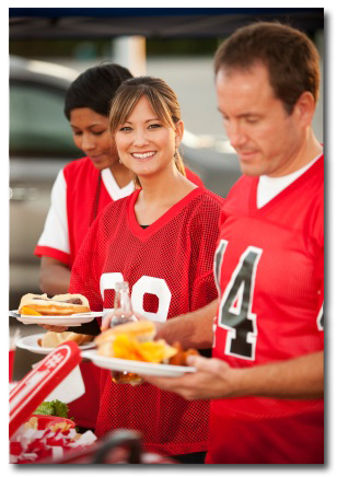 football tailgate party Tailgate Party Tips